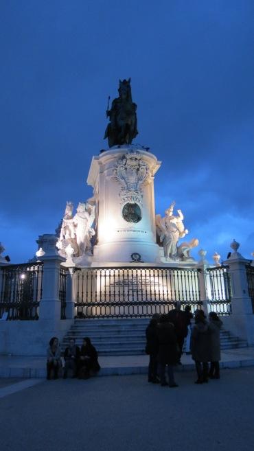 A Praça do Comércio