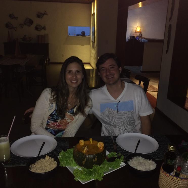Restaurante da pousada Samba Pa Ti